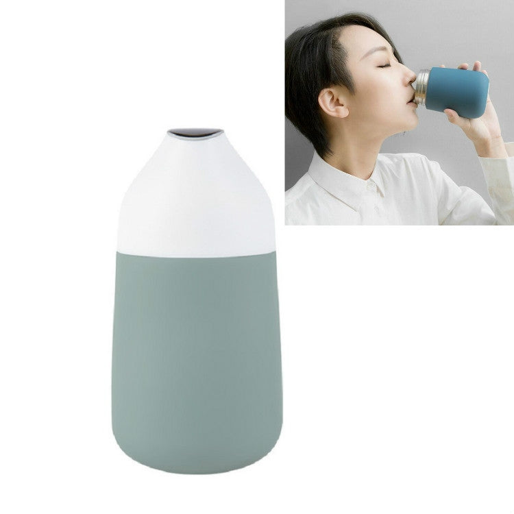 Display Temperature Sense Warm Water Cup Creative Portable Water Cup, Capacity:310ml(Green) - Star Produkte