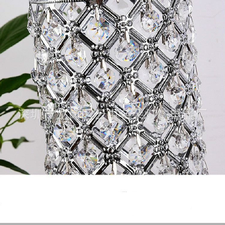 Crystal Table Lamp Dining Room Living Room Decorative Art Table Lamp |