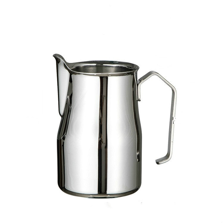 Stainless Steel Coffee Pot Pull Flower Cylinder Cup, Capacity:0.35L - Star Produkte