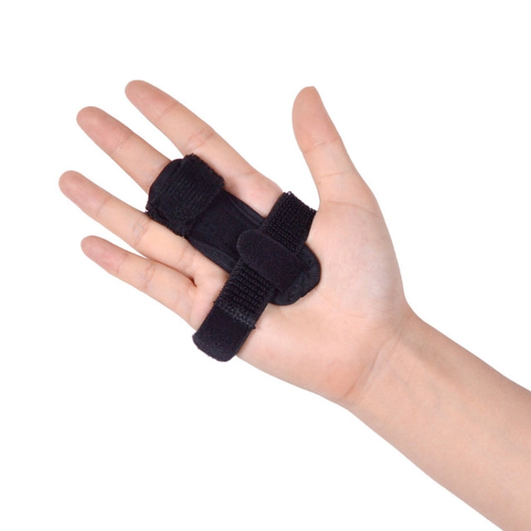 JM02965 Finger Protector for Correcting Fracture Fixation Protective Sleeve Finger Support Fixator, Size:One Size(Black) - Star Produkte