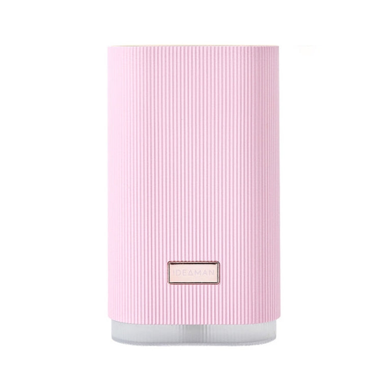 iDeaman Fruit Powder Air Humidifier Portable Desktop Car Hydration Instrument Moisture Meter Aromatherapy Air Purifier Automatic Disinfection Alcohol Sprayer(Pink) |