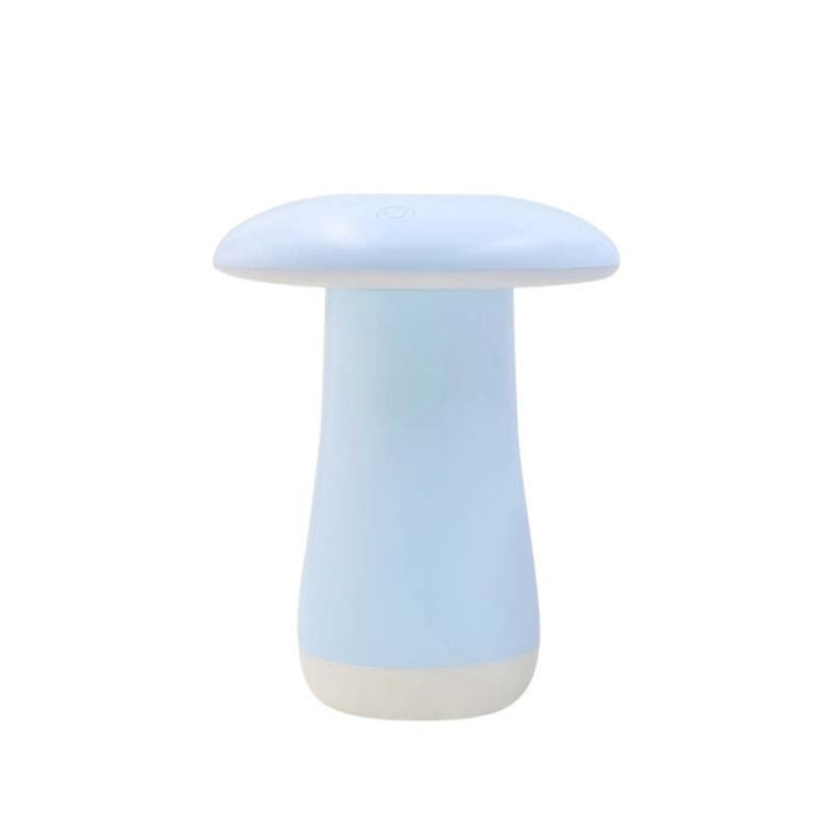 Mushroom Aromatherapy Night Light Bedroom Bedside Sleep Air Humidifier Sleep Aid Lamp Automatic Alcohol Sprayer(Blue) |
