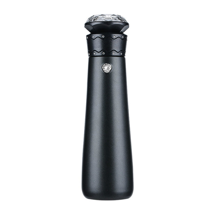 Diamond Eternal Love Mug Reminder Drinking Water Smart Cup Stainless Steel Thermos(Black ) - star-produkte.myshopify.com