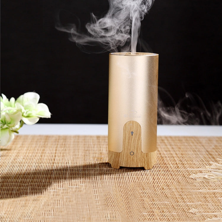 GX.Diffuser GX-B02 Portable USB Car Home Ultrasonic Air Purifier Humidifier Essential Oil Aroma Diffuser Mist Maker(Gold) - Star Produkte