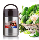 Jiadabao Stainless Steel Vacuum Insulation Simmering Pot Portable Insulation Rice Pot, Capacity: 1200ml - Star Produkte