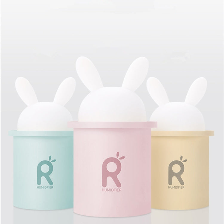 250ML Rabbit Mini USB Humidifier Ultrasonic Aromatherapy Essential Oil Diffuser Mist Maker( Yellow) - Star Produkte