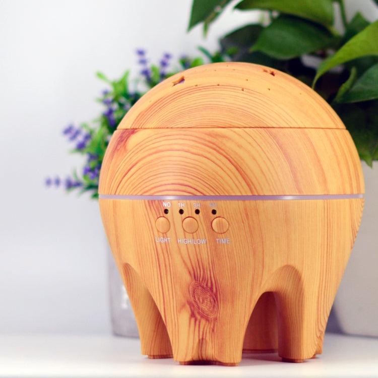 CLDX-105  500ml Essential Oil Diffuser Air Humidifier Starry Sky 7 Color LED Lights Ultrasonic Aromatherapy Diffuser, Plug Type:EU Plug(Light Wood) |