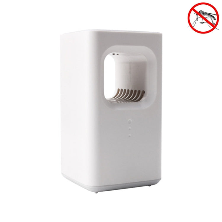 USB Household Indoor Photocatalyst Mosquito Killer and Mosquito Remover, Style:USB+Plug(White) |