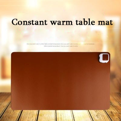 220V Electric Hot Plate Writing Desk Warm Table Mat Blanket Office Mouse Heating Warm Computer Hand Warmer Desktop Heating Plate, Color:Green Small Size, CN Plug - Star Produkte