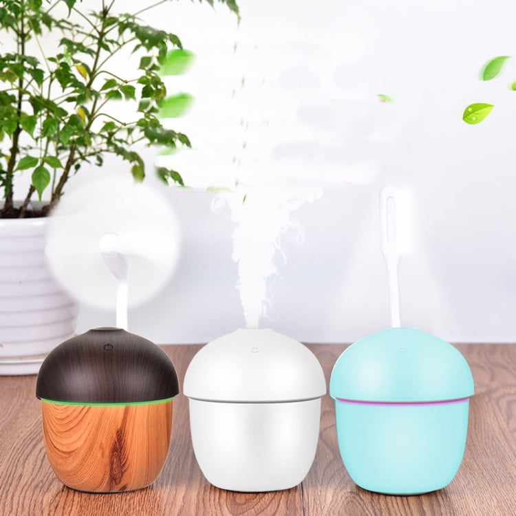 N1 Air Humidifier USB Aroma Essential Oil Diffuser Ultrasonic Cool Mist Air Purifier with 7 Color Changed LED(Blue) |