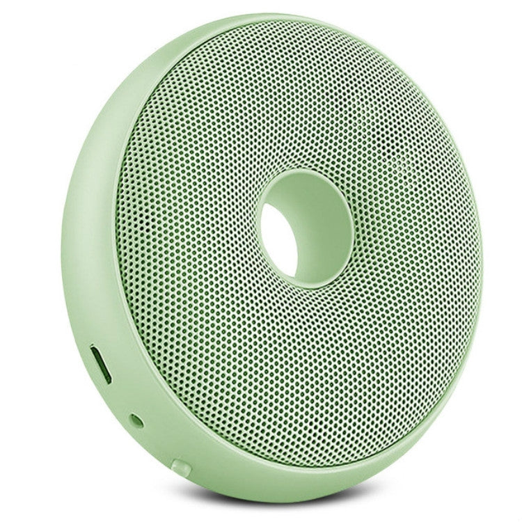 Portable Donut Electric Air Purifier Home Car Anion Ozone Deodorizer(Green) |