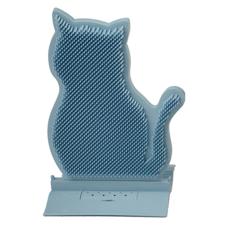 Fixed Door Seam Cat Rubbing Device Anti-itching & Hair Removal Massage Brush Pet Supplies(Blue) - star-produkte.myshopify.com