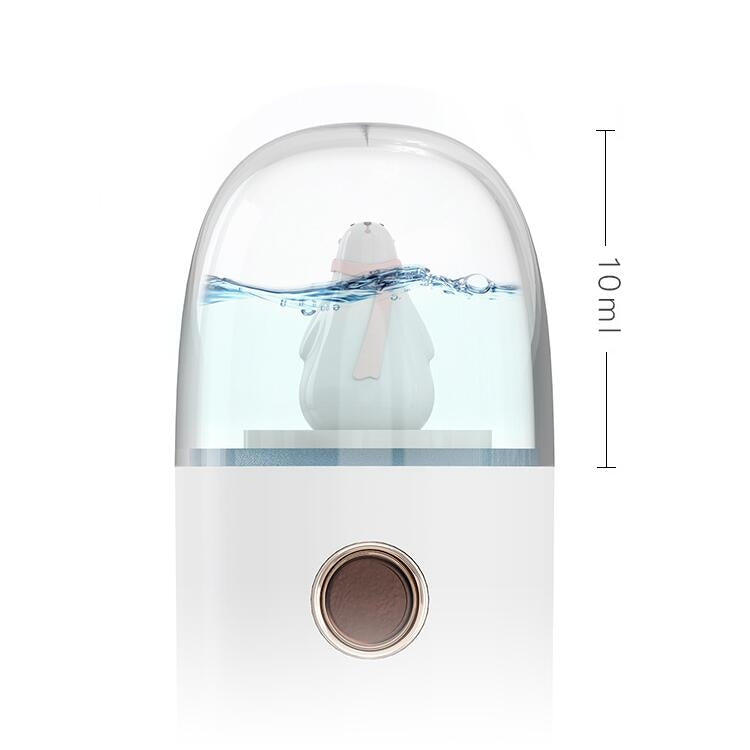 Spray Moisture Meter Humidifier Charging Mini Portable Humidifier, Size:32x32x129mm(Penguin) - Star Produkte