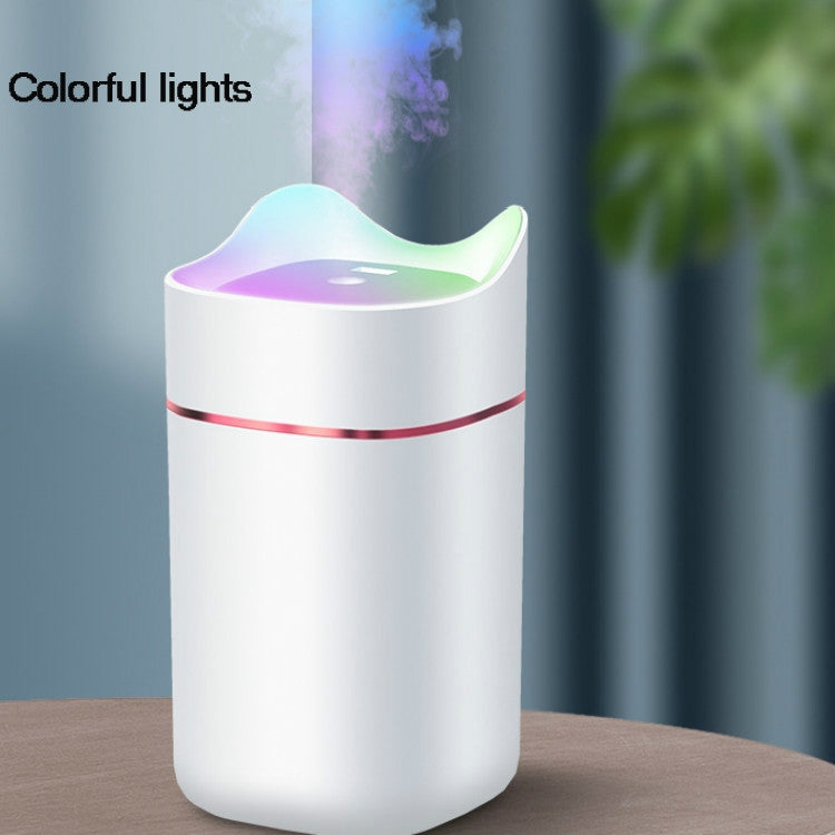 Home Office 1.4L Capacity Aromatherapy Spayer Diffuser Air Humidifier, Specification:USB Charging(Black) - Star Produkte