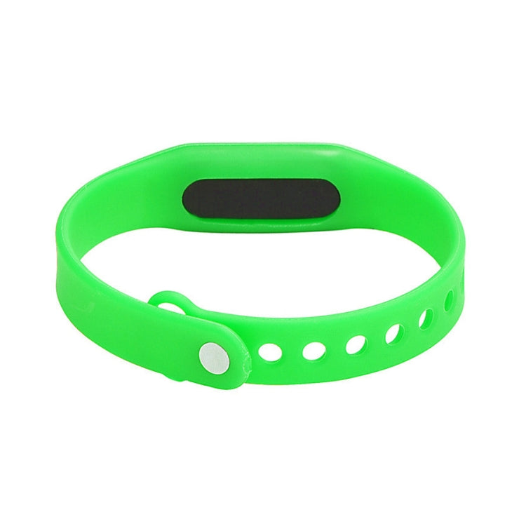 Delicate Sports Watches Rubber LED Women Mens Date Sports Bracelet Digital Wrist Watch(Green) - star-produkte.myshopify.com