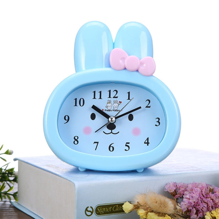3 PCS Home Daily Use Clocks Cartoon Bunny Children Creative Alarm Clock(Blue) - Star Produkte