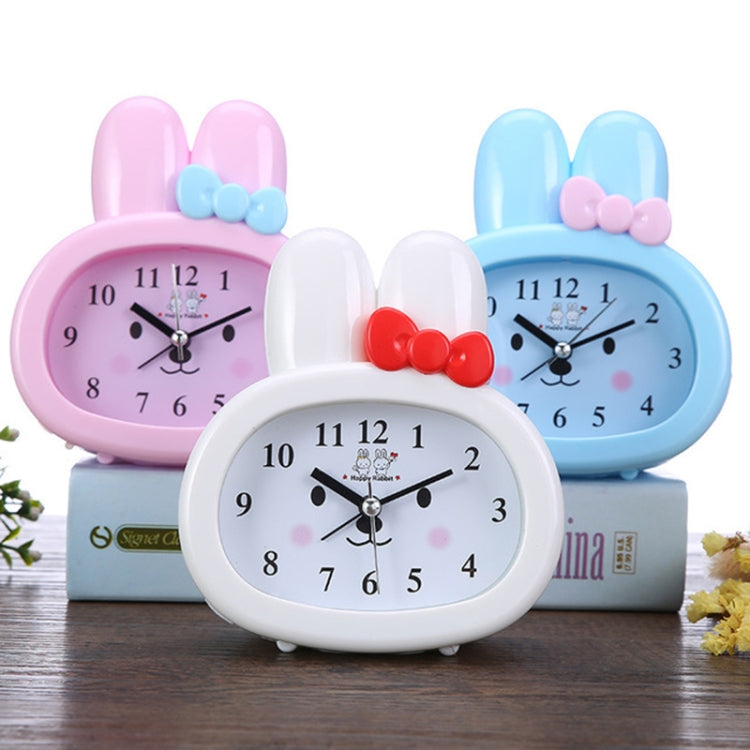 3 PCS Home Daily Use Clocks Cartoon Bunny Children Creative Alarm Clock(Pink) - Star Produkte