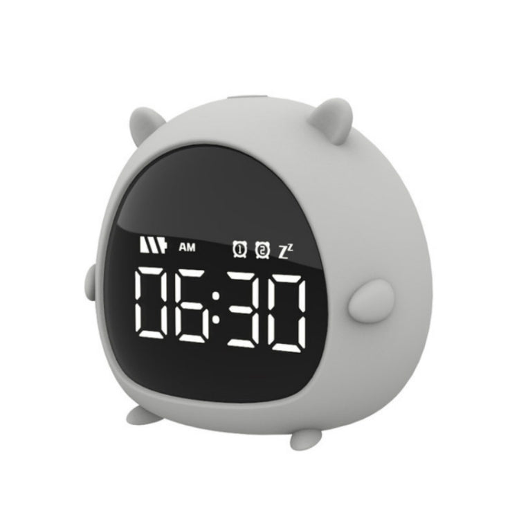 Creative Cartoon Elf Student Big Display Bedside Alarm Clock(Rat) - star-produkte.myshopify.com