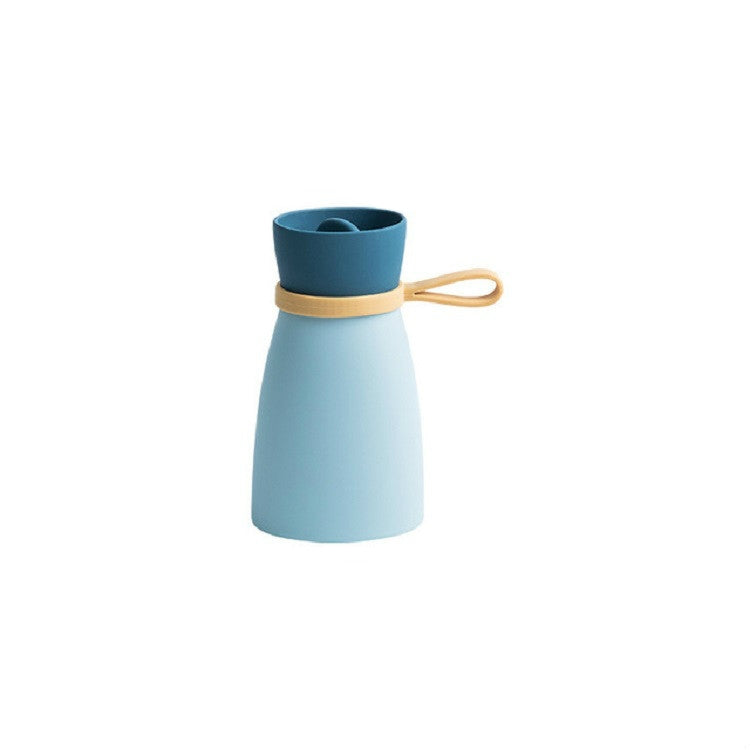 Small 380ml Silicone Hot Water Bottle Inject Water Heater(Blue) - Star Produkte