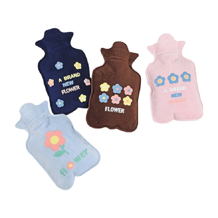 Cartoon Creative Hand Warmer Water Injection Hot Water Bottle Plush Warm Water Bag(Gray Animal Party) - Star Produkte