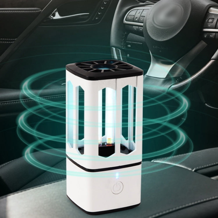 Ultraviolet Car Disinfection Lamp Rechargeable Bedroom Ozone Deodorization Formaldehyde Remove Sterilization Lamp - Star Produkte