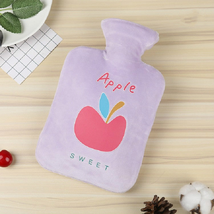 Fruit Mini Water Injection Hot Water Bottle PVC Hand Warmer Bag, Capacity:1000ml(Purple) - Star Produkte