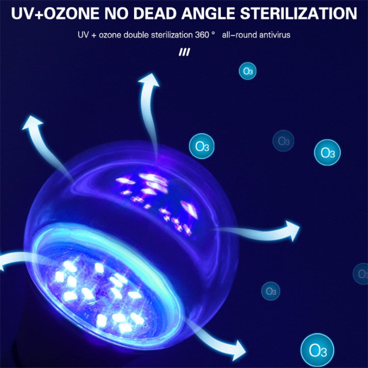 2 PCS A027 E27 Sterilization LED Ultraviolet Light Disinfection Lamp, Power:7W - Star Produkte