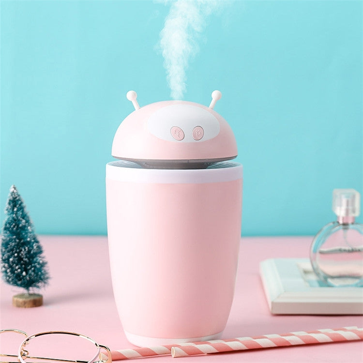 CYZ-001 500ML Astronaut Style Air Humidifier USB Desktop Mini Air Purifier(Pink) |