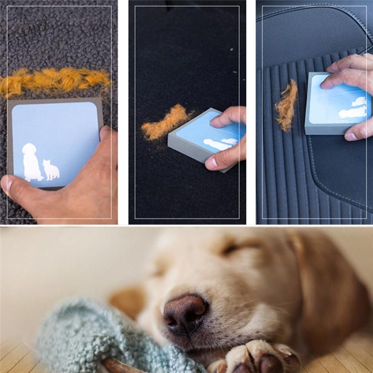 2 PCS Pet Dog Cat Hair Fur Cleaning Brush Foam Rubber Portable Hand Brush - star-produkte.myshopify.com