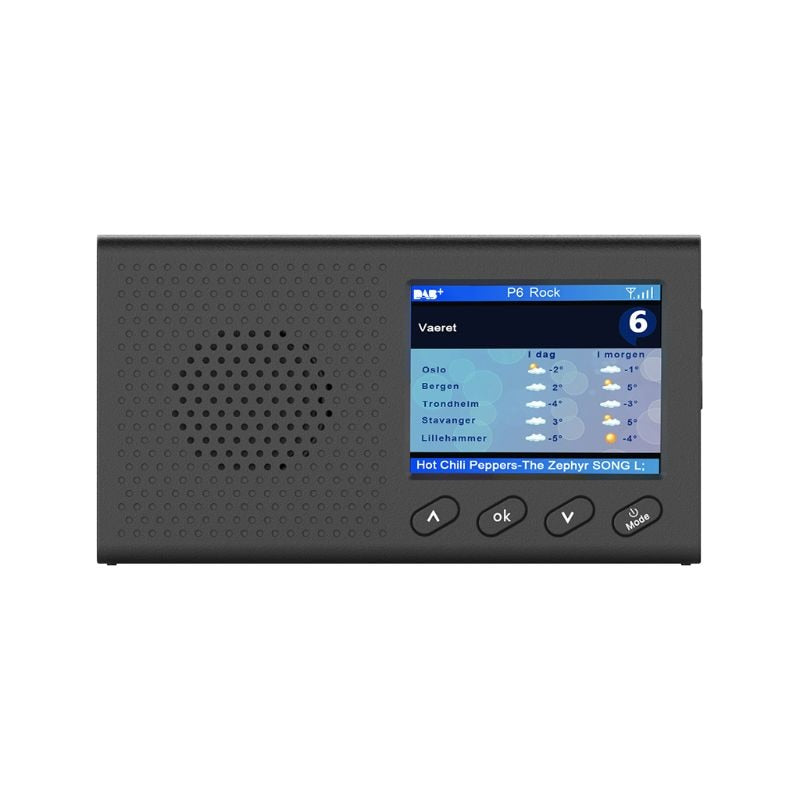 Tragbares DAB+ FM Radio mit Bluetooth & Musik-Player - Star Produkte
