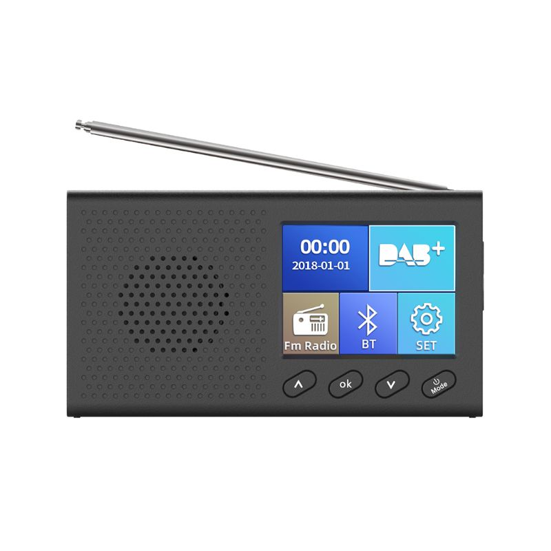 Tragbares DAB+ FM Radio mit Bluetooth & Musik-Player - Elektroniktrade