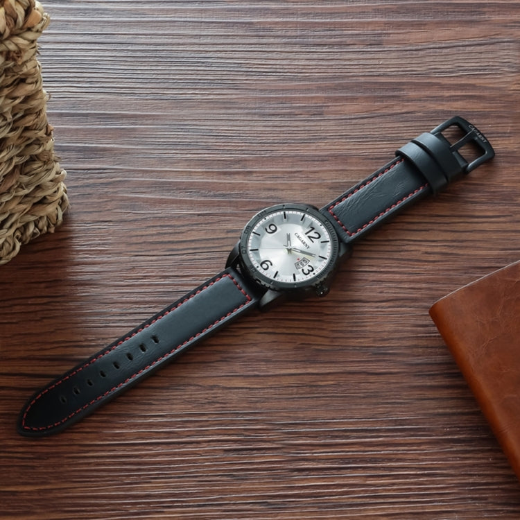 CAGARNY 9857 Fashion Quartz Movement Wrist Watch with Leather Band(Brown) - star-produkte.myshopify.com