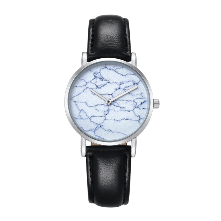 CAGARNY 6812 Round Dial Alloy Silver Case Fashion Women Watch Quartz Watches with PU Leather Band - Star Produkte