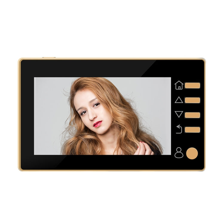 Danmini W10 4.3 inch Smart Electronic Cat Eye Household Visible Doorbell 300000 Pixels Camera Support Infrared Night Vision & TF Card - star-produkte.myshopify.com