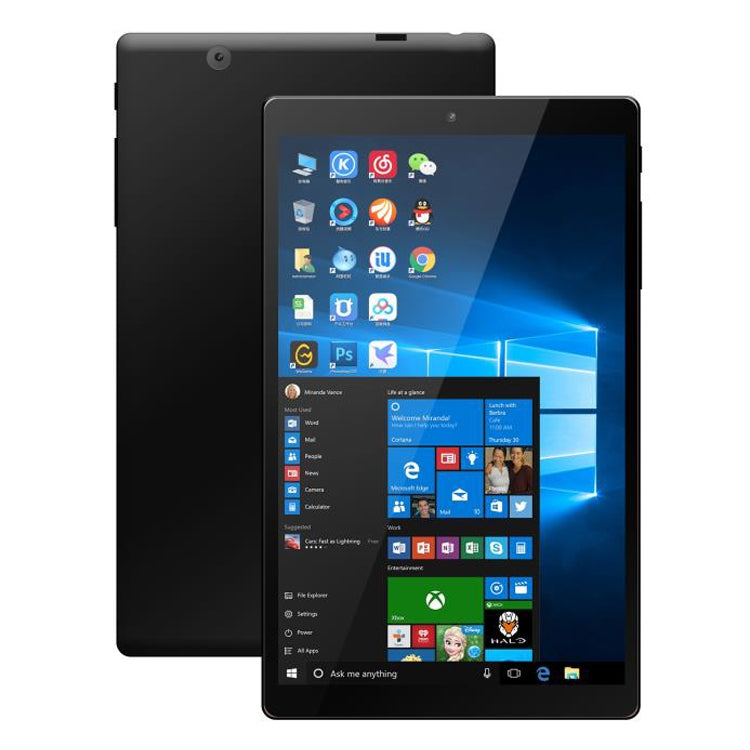 HSD8001 Tablet PC, 8 inch, 4GB+64GB, Windows 10, Intel Atom Z8300 Quad Core, Support TF Card & HDMI & Bluetooth & Dual WiFi, US / EU Plug(Black) - star-produkte.myshopify.com