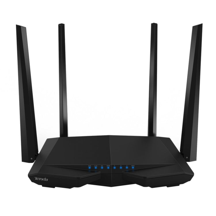 Tenda AC6 AC1200 Smart Dual-Band Wireless Router 5GHz 867Mbps + 2.4GHz 300Mbps WiFi Router with 4*5dBi External Antennas(Black) |