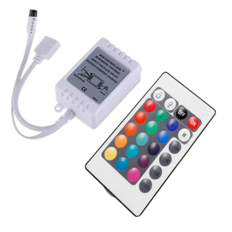 YWXLight 5M RGB 5050SMD Dimmable IP65 Waterproof Flexible Light Strip with 24 Keys Remote Control - star-produkte.myshopify.com