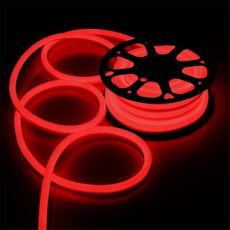 YWXLight 5m 600LEDs 2835 SMD LED Neon Light Flexible DIP IP67 Waterproof Rope Light 2 Wires, AC 220-240V (Red Light) - star-produkte.myshopify.com