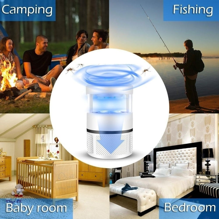 USB Mosquito Killer LED Photocatalyst Silent Mosquito Trap - Star Produkte