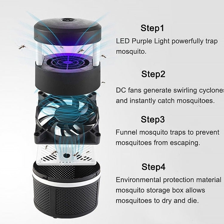 USB Mosquito Killer LED Photocatalyst Silent Mosquito Trap |