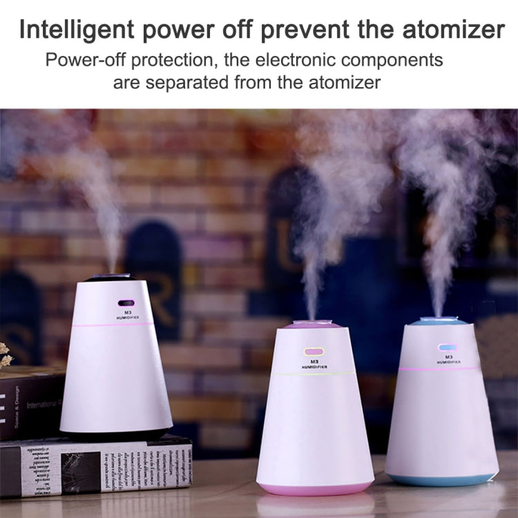 M3 Creative Portable Mute Desktop Air Humidifier with Night Light, Capacity: 200ml, DC 5V |