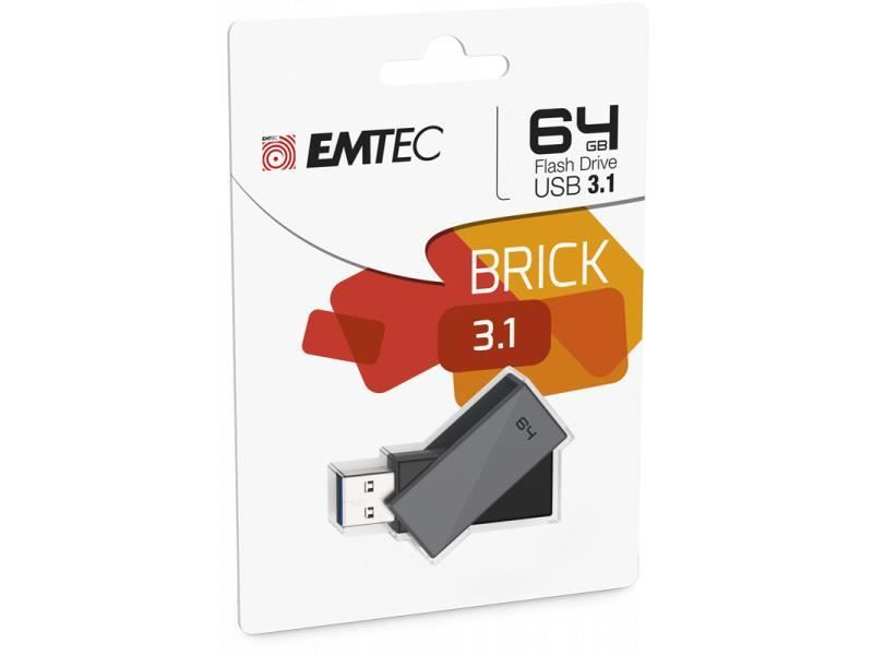 USB FlashDrive 64GB EMTEC C350 Brick 3.1 - Star Produkte