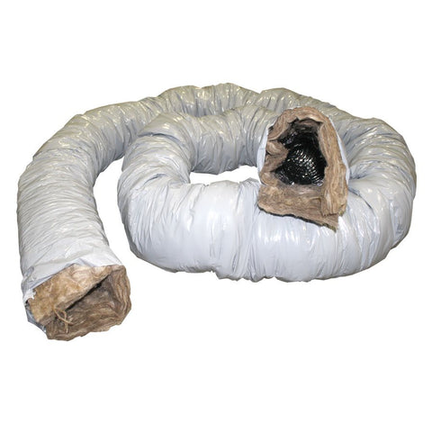 "Peflex Insulated Flexible Duct 12"" x 25'"