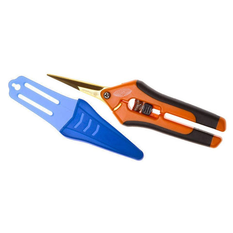 Giro's Orange Precision Pruner Titanium Straight Blades. SEC-1011DTi