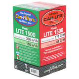 Can-Lite Filter 1500 Plastic w/ out Flange 177 CFM