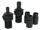 Hydro Flow Ebb & Flow Fitting Kit (1/Bag)