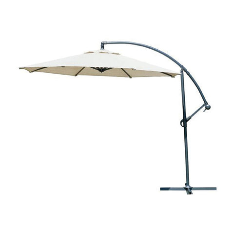 GALE CANTILEVER UMBRELLA 10' SMOKE