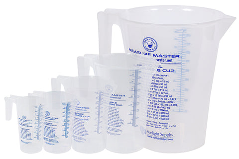 Measure Master Graduated Round Container
