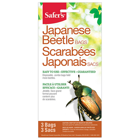 Safer's® Japanese Beetle Replacement Bags - 3 Bags