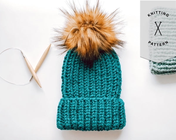 KNITTING PATTERN | The Classic Ribbed Beanie